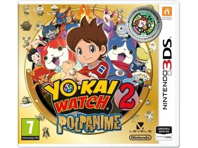 NINTENDO 3DS GIOCO YOKAI WATCH 2 POLPANIME SPECIAL EDITION IT