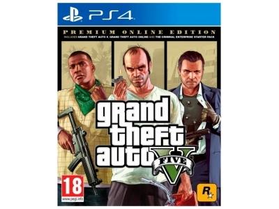 ROCKSTAR GAME PS4 GIOCO GTA V PREMIUM EDITION EU