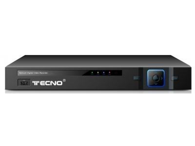 TECNO DVR 16 CANALI PER TELECAMERE ANALOGICHE/IP HDMI TC-5IN1FACE16