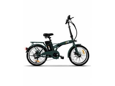 THE ONE BICI ELETTRICA EASY 250W/36V 25KMH DISPLAY FOREST GREEN