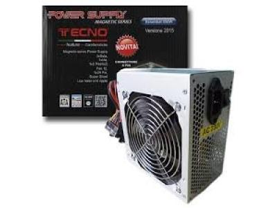 TECNO ALIMENTATORE PC ATX 550W BIG FAN 12CM RETAIL